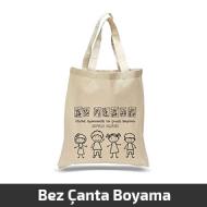 23 Nisan Boyama Bez Çanta -Hobi Çanta