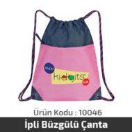 İpli Büzgülü Çanta 10046